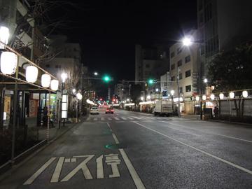 人形町の夜景