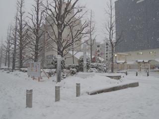 雪の水天宮